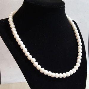 White Onyx Necklace